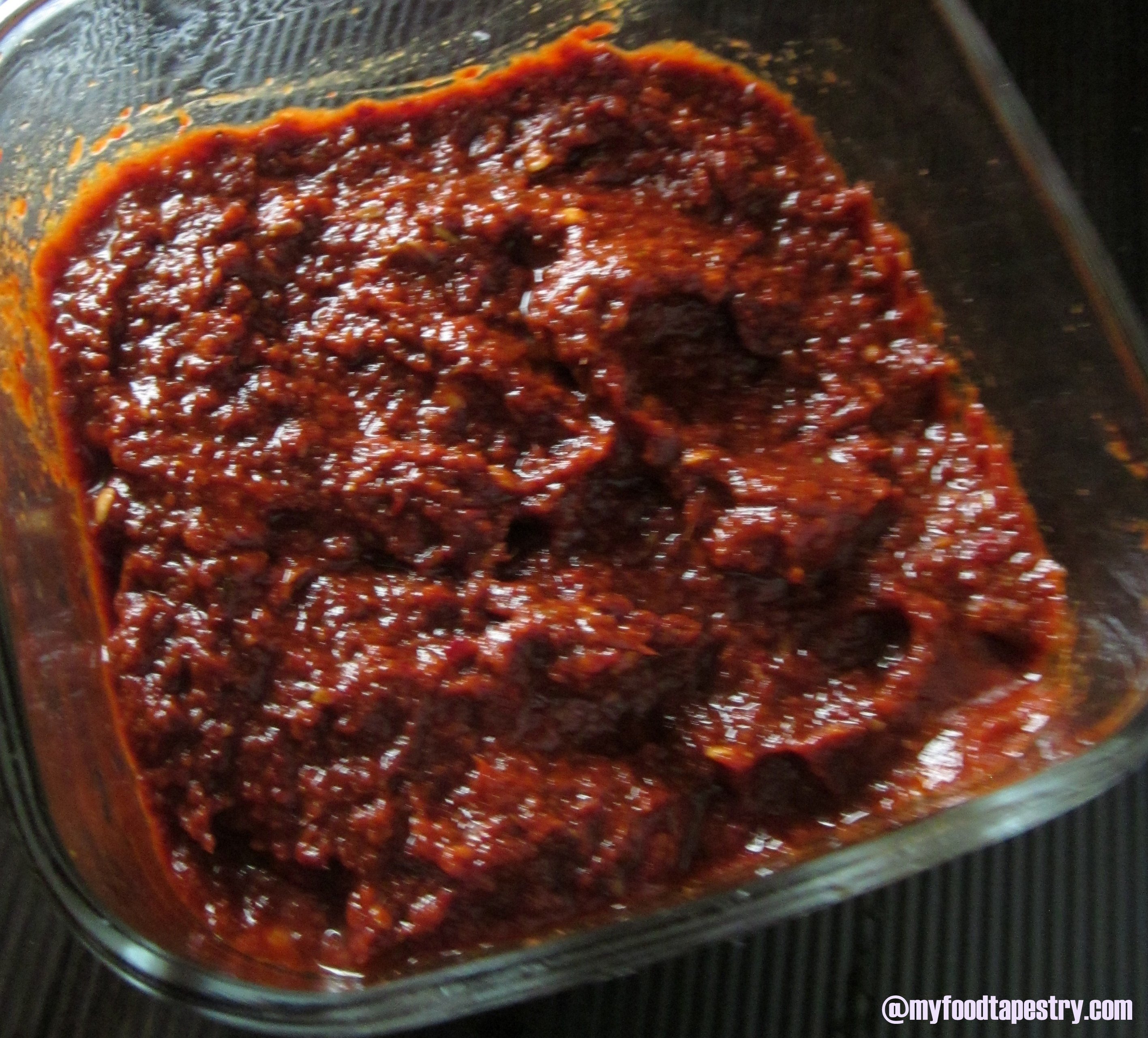 Red Curry Paste | MyFoodTapestry
